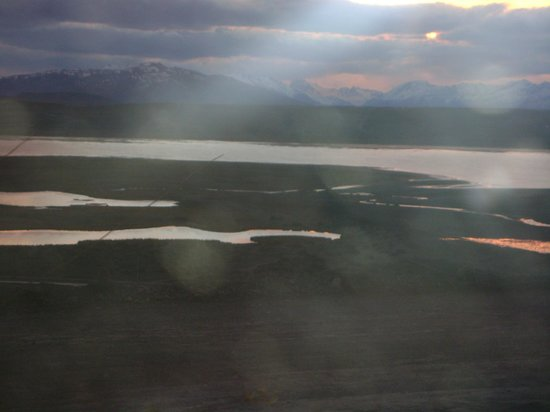 Fuerte Calafate: desde la habitaciòn la vista del Lago Argentino