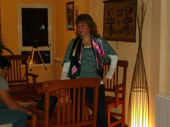 Fuerte Calafate: la sala de estar