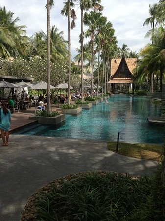 Twinpalms Phuket: pool at twin palms phuket