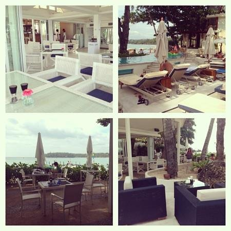 Re Ka Ta Beach Club: Beautiful decor. lovely view.