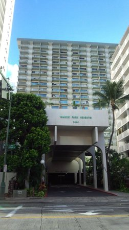 Unipack at the Waikiki Park Heights: ホテル全景