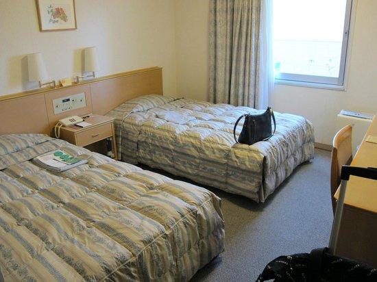 Matsue Excel Hotel Tokyu: Comfrtable beds.