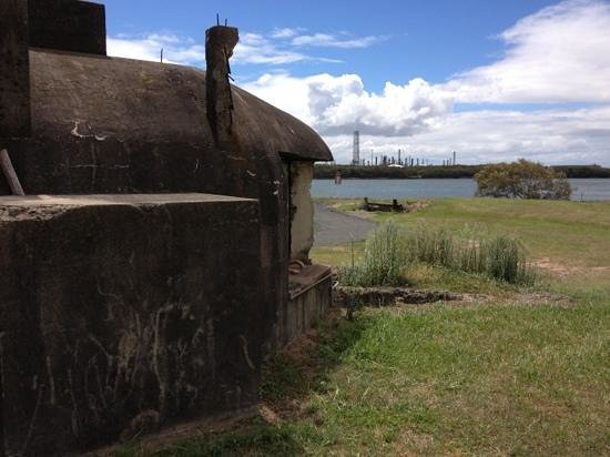 Fort Lytton National Park: Fort Lytton remanents