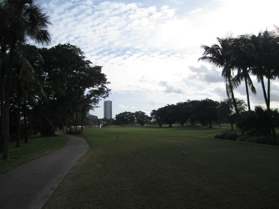 The Diplomat Golf & Tennis Club: Diplomat 9th hole par 4