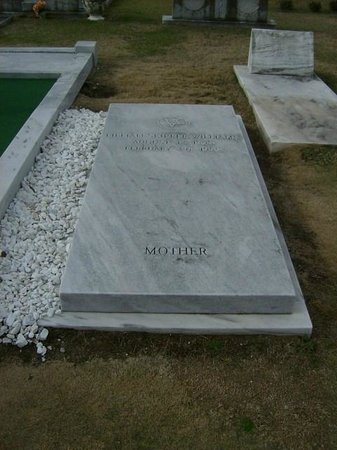 Hank Williams Memorial - Oakwood Annex Cemetery: Hank's mother was laid to rest beside him.