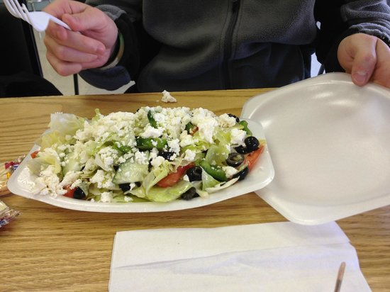 Mike's Deli: Greek Salad
