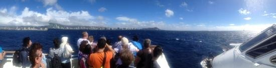 Atlantis Cruises: Front left deck