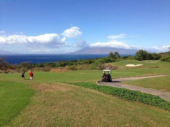Makena Golf Courses : good views!