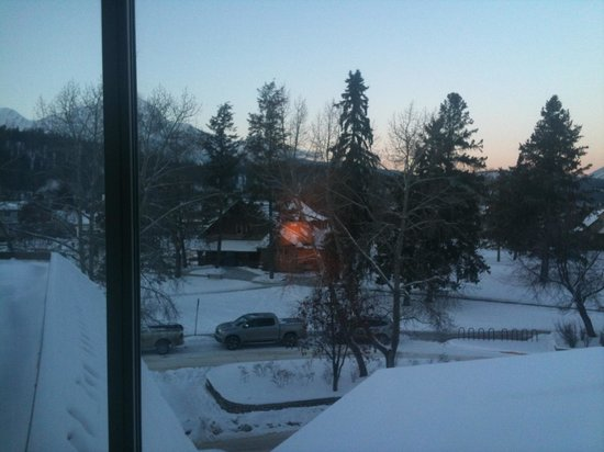 Whistlers Inn: View from our window
