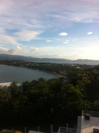 Cohiba Villas: view from unit 33