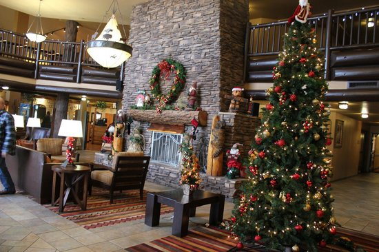 The Grand Hotel at the Grand Canyon: fire place