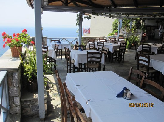 Maistrali: The view is a bonus, secondary to the great food!