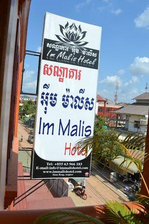 Im Malis Hotel: NamePlates