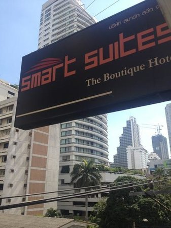 Smart Suites: look for this sign