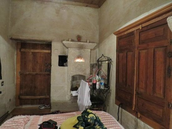 Kelebek Special Cave Hotel: Our Room (rugged & basic)