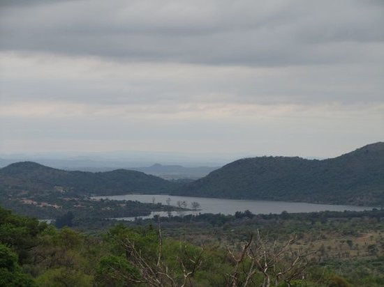 Mountain Sanctuary Park: View from the trail