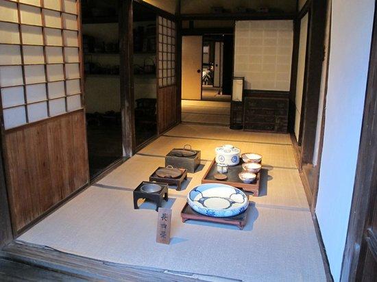 Buke Yashiki: Dining area.