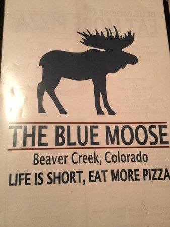 Blue Moose: Menu