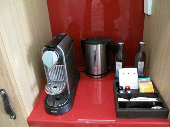 Swissotel Dresden: Coffee machine