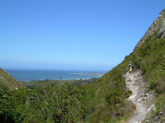 Harold Porter National Botanical Gardens: VIEW TOWARDS BETTY'S BAY