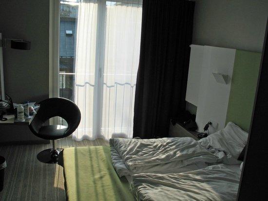Hotel Demas City: balcony