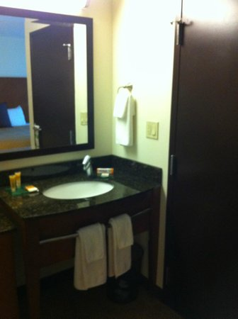 Hyatt Place Sacramento Roseville: Bathroom