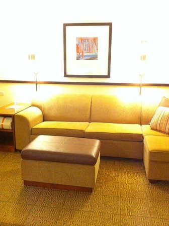 Hyatt Place Sacramento Roseville : sitting area