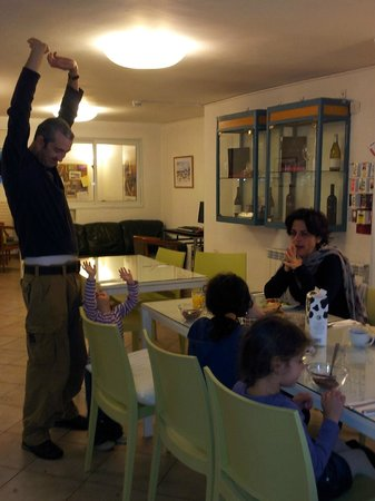 Eden Jerusalem Hotel: dinning room
