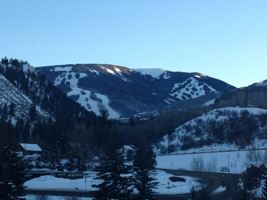 Westin Riverfront Resort & Spa: View of Beaver Creek Mountain from our room.