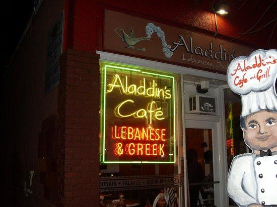 Aladdins: outside
