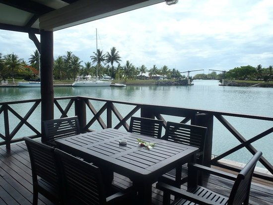 Musket Cove Island Resort: Private Deck of Armstrong Villa
