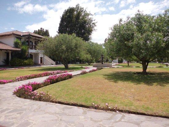 Hacienda Abraspungo: el patio central
