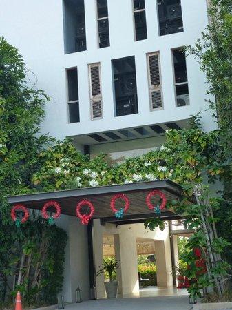 Yaiya Hua Hin: Hoteleingang