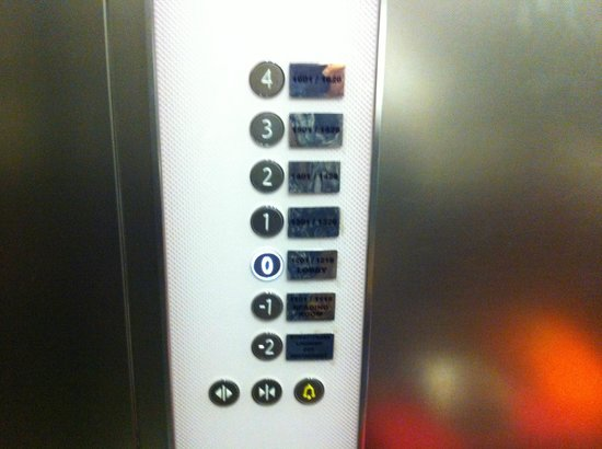 Han Hostel Airport North: Lift