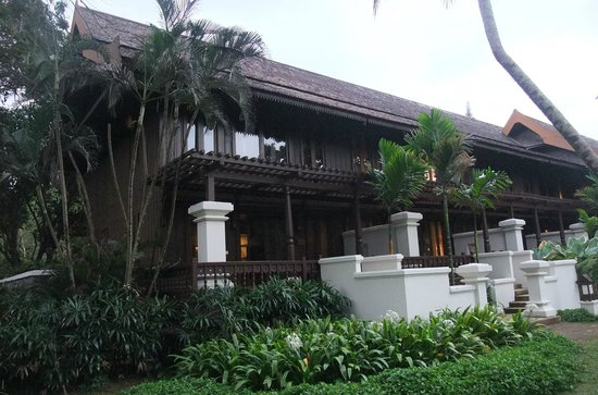 Tanjong Jara Resort: One of the hotel blocks