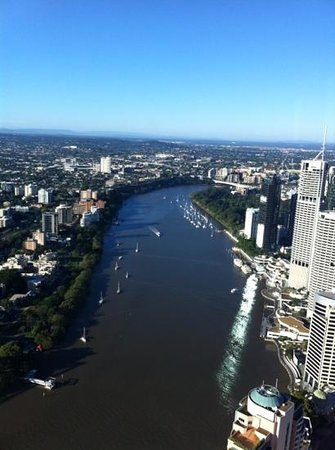 Meriton Serviced Apartments Brisbane on Adelaide Street: stunning view