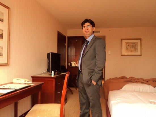 Evergreen Laurel Hotel: inside the room