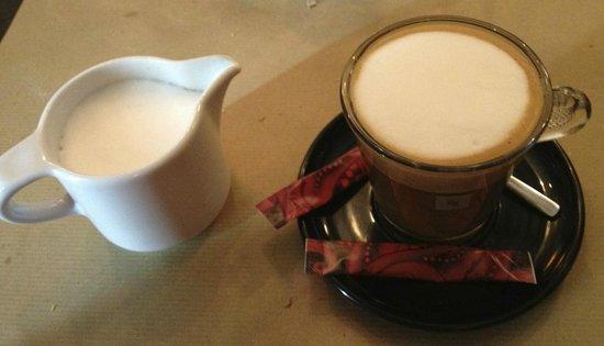 A stretta corsa : Le café noisette ! Très PRO. mieux qu'à la maison !