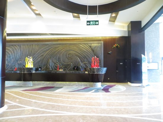 Grand Kempinski Hotel Shanghai: Reception Desk
