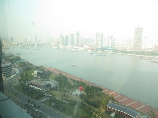 Grand Kempinski Hotel Shanghai: View from our room