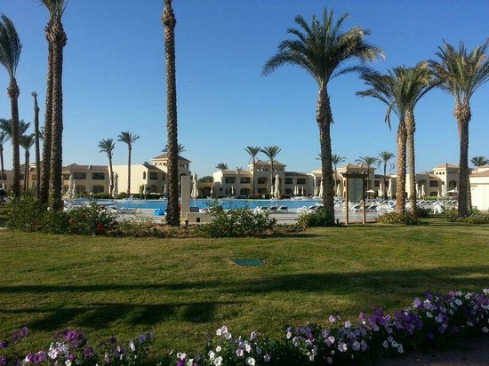 Cleopatra Luxury Resort Makadi Bay: noch ein Pool
