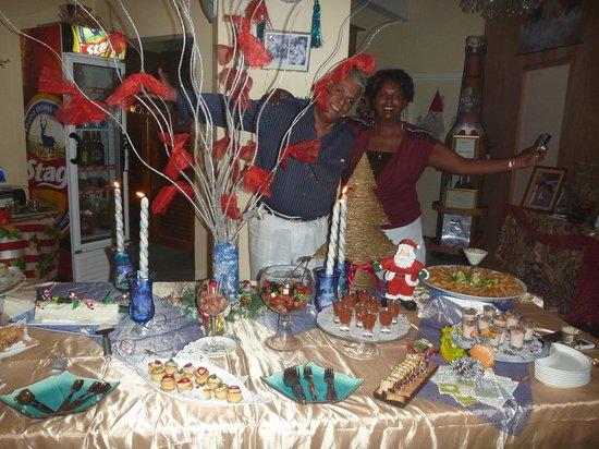 Pallagino Guest House: Repas de noël