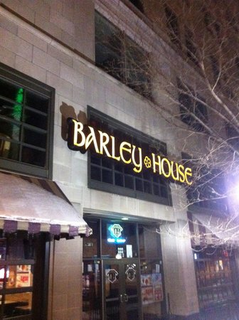 Barley House: Outside facing Main St.