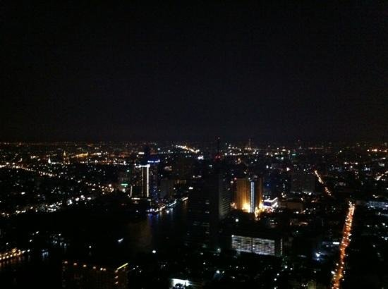 lebua at State Tower: view from the 58th floor