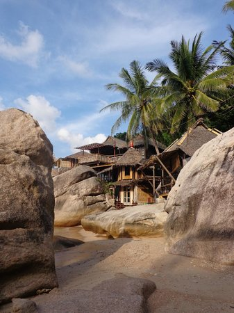 Charm Churee Villa: beach