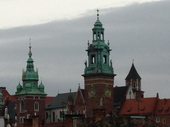 Sheraton Grand Krakow: view from our window ( 545)