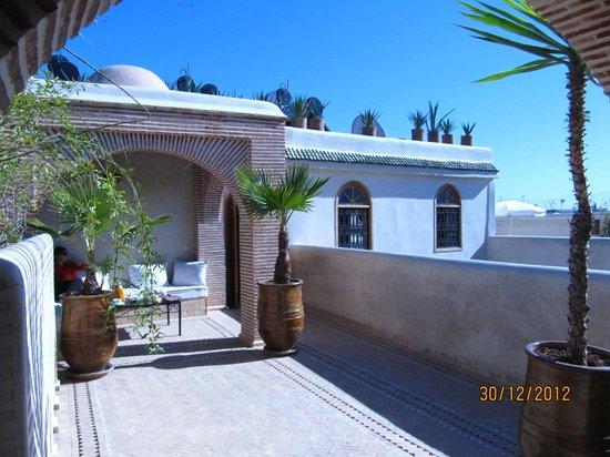 Riad Granvilier : la terrasse