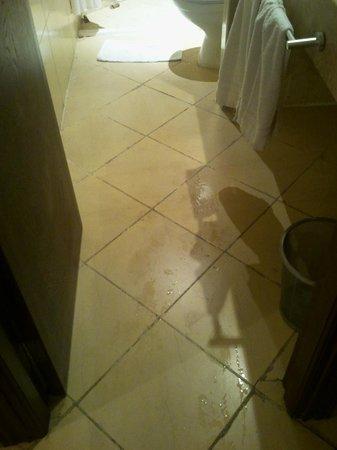 Ryad Mogador Gueliz: piastrelle sporche e rotte