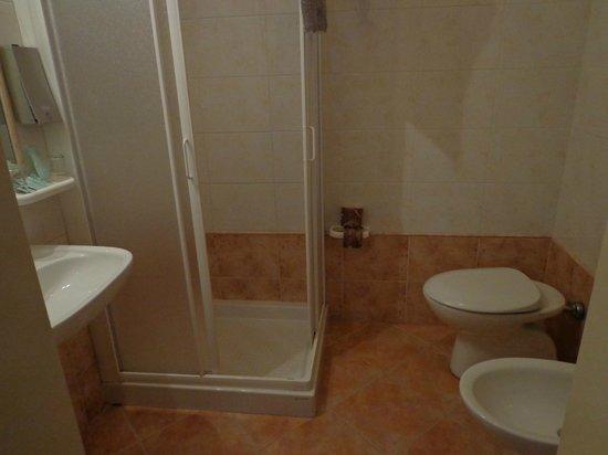 Hotel Kursaal Ausonia: baño