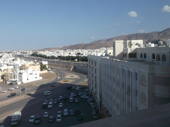 Radisson Blu Hotel, Muscat: view from my room